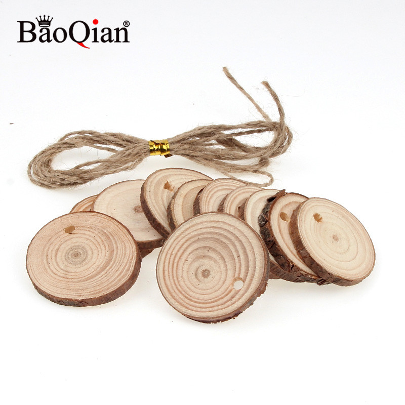 5Pcs Wooden Ring Band Blank DIY Unfinished Wood Ring for Jewelry Craft Log color