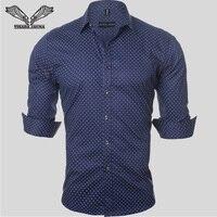 Men Casual Shirts Fashion New Brand Short Sleeve Cotton High Quality Shirt Male Business Dress Slim