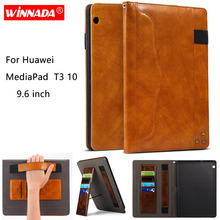 For Huawei MediaPad T3 10 case 9.6 inch Luxury business style Full Protective Cover For Huawei T3 10 AGS-L09 L03 W09 BZA-L00 W00 цена 2017