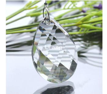 Darmowa wysyłka nowoczesne K9 kryształ 38mm wyczyść faceted kropla kryształ 50 części partia dla części żyrandol oświetlenie akcesoria części tanie i dobre opinie Kryształowy żyrandol JP505