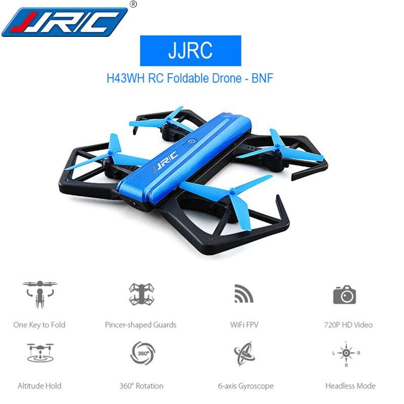 JJRC H43WH Mini Drone mit Kamera Gefaltet RC Quadcopter Headless Drohnen mit Kamera 720 P Fernbedienung Hubschrauber Höhe Halten