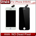 Aaa calidad lcd de repuesto de pantalla para iphone 5s iphone 5 iphone 5c pantalla lcd con pantalla táctil digitalizador asamblea