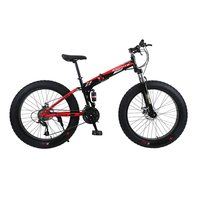 Russian Warehouse And Wholesale 26 Inch And 21 Speed Thick Wheel SNOW Bike And Mountain FOLDING
