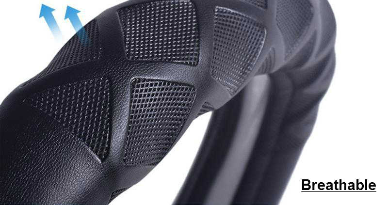 DIY автомобиля Руль Обложка для Для мужчин Для женщин 38 см кожа Four Seasons Генеральный руль охватывает Авто подкладке аксессуары