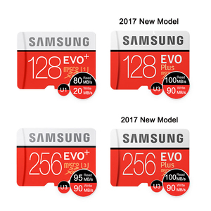 Image 3 - SAMSUNG Memory Card Micro SD 32G 64G 128G 256G 512GB SDHC SDXC Grade EVO+ Class 10 C10 UHS TF Cards Trans Micro up to 95mb/s New
