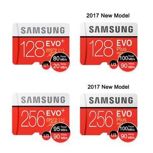 Image 3 - Tarjeta de memoria Micro SD SAMSUNG, 32G, 64G, 128G, 256G, 512GB, SDHC, grado EVO + Clase 10, tarjetas TF UHS, Trans Micro hasta 95 mb/s, nuevo