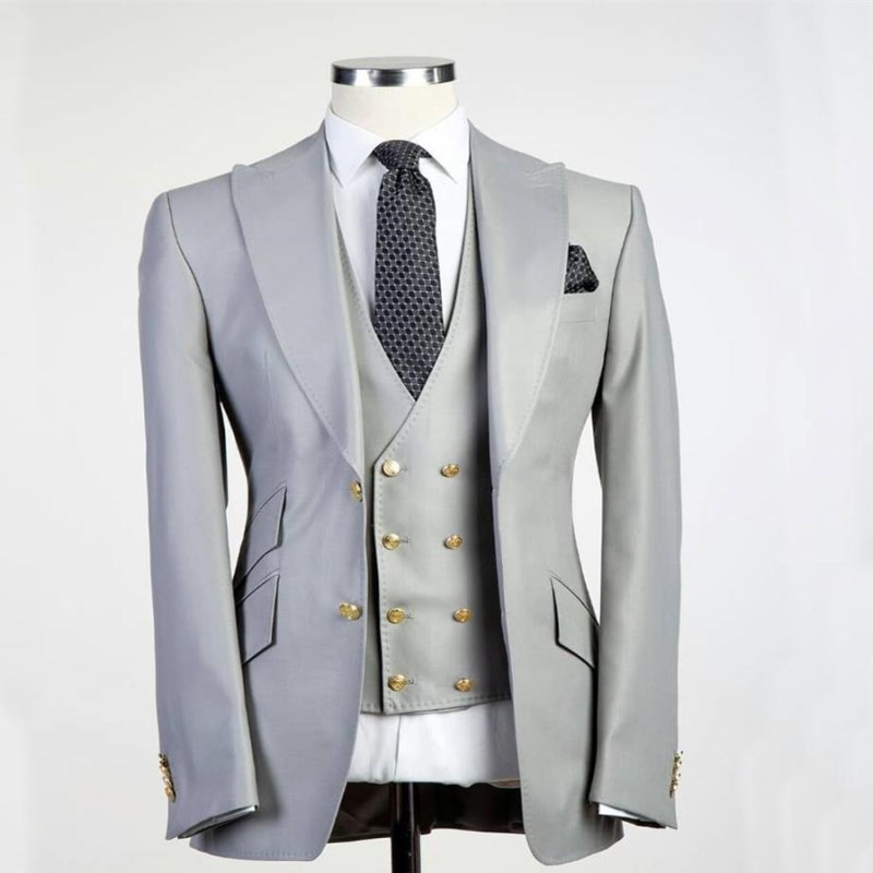 De Robe As Picture Costume Personnalisé veste Marié Double Excellente as Ti Mariage Revers Smoking Design Business Haut Boucle Party Hommes Picture Pantalon UX6YXx