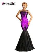 2015 New Fashion Summer Women Long Dresses Sexy 3 Colors Sequin Applique Maxi Party Mermaid Dress