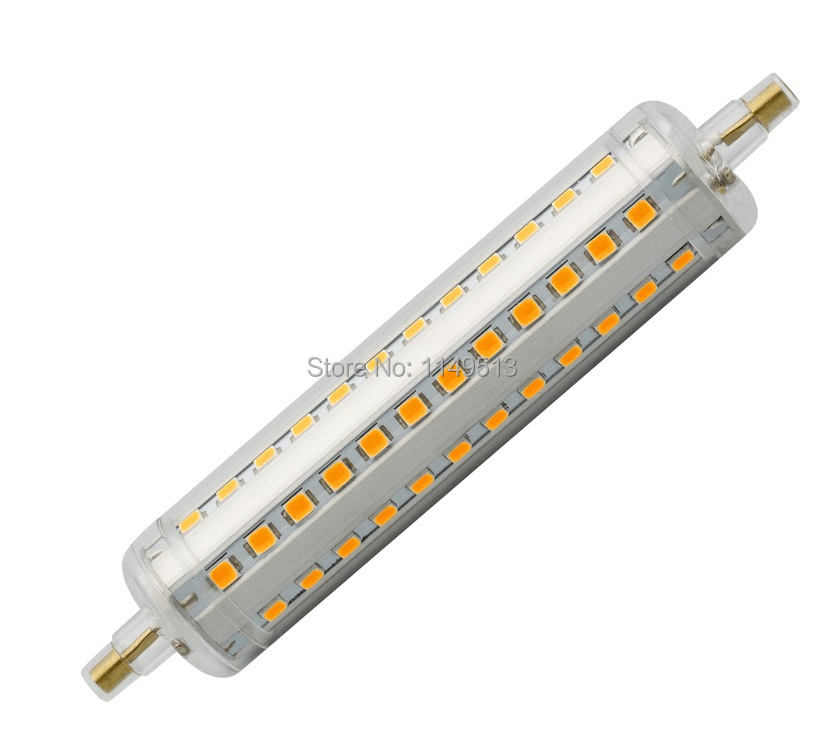 in LED R7S replace 118mm R7S J118 halogen angle RA80 R7S 12OFF LED degree beam light 10w lamp BulbsTubes US6 perfect 16 360 lamp Dimmable y6b7gf
