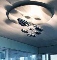 Di alta qualità della luce di Soffitto di acqua Spazio di goccia mango Moderna del soffitto LED 80 CENTIMETRI liquido Illuminante Della Scienza E Della Tecnologia lampada da soffitto