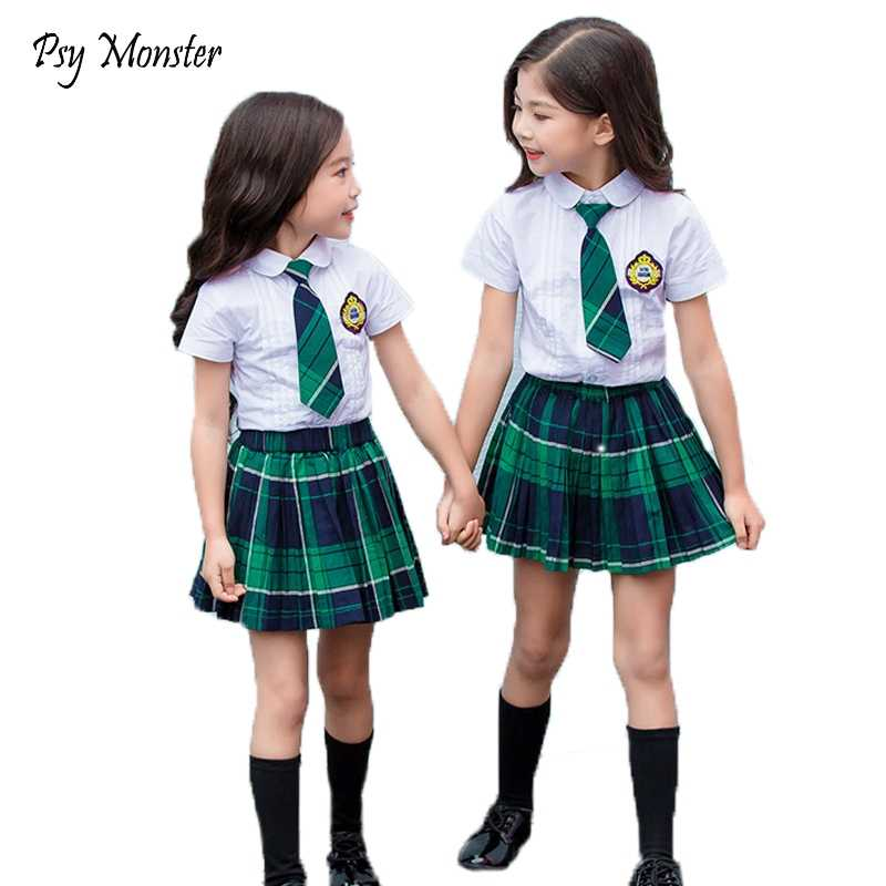 Japanese Student School Uniforms Set Suit for Girls Boys Children Formal  Dress Kids Shirt Pleated Skirt Boys Shorts Tie Clothes|Clothing Sets| -  AliExpress