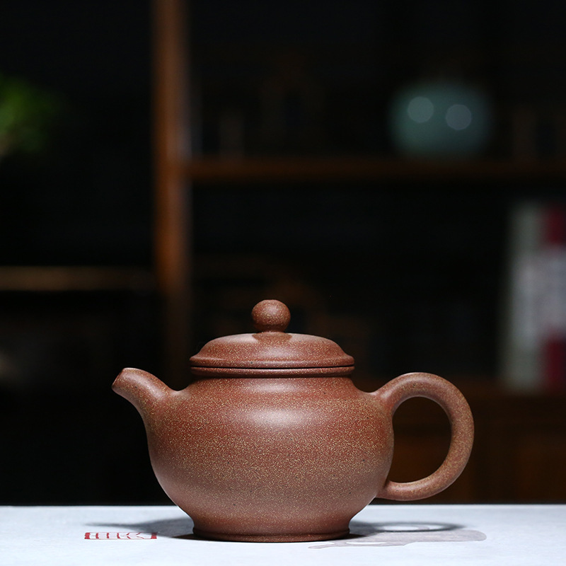 Pottery Teapot Full Manual High Quality Peach Blossom Muddy Only Kettle Infusion Of Tea Kungfu Online Teapot Tea Set GiftPottery Teapot Full Manual High Quality Peach Blossom Muddy Only Kettle Infusion Of Tea Kungfu Online Teapot Tea Set Gift