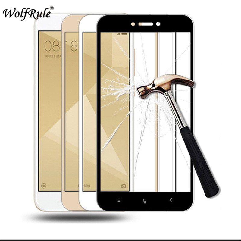 Screen Protector Glass Xiaomi Redmi 4X Anti-Brust 2.5D Tempered Glass For Xiaomi Redmi 4X Full Coverage Glass Redmi 4X 5.0