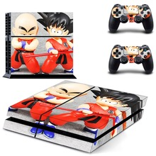 Vinyl Sticker PS4 Skin Decal Sticker For PlayStation4 Console and 2 controller skins – Dragon Ball