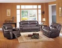 Living Room Sofa Recliner Sofa Cow Genuine Leather Recliner Sofa Cinema Leather Recliner Sofa 1 2
