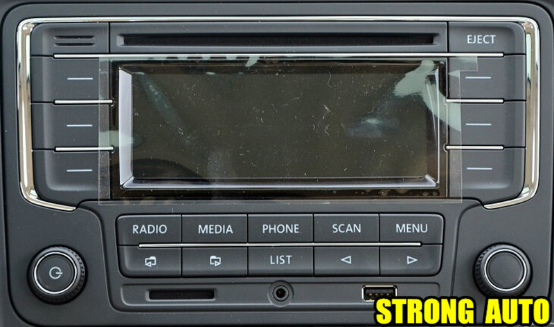 vw volkswagen original oem car radio rcn210 cd mp3 usb sd. Black Bedroom Furniture Sets. Home Design Ideas