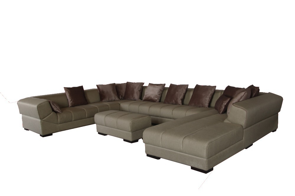8058# high quality factory price sofa Living room sofa sets fabric soft corner sofa sets