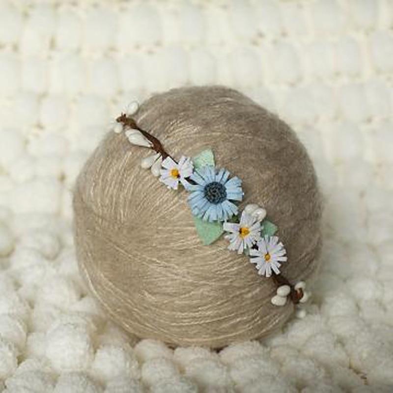ručně vyrobený novorozenec Baby girlanda Čelenka, Baby dívka - Oblečení pro miminka