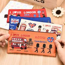 Creative Pencil Case kawai pen bag school office supplies high quality cute funny lovely birthday gift send children 013
