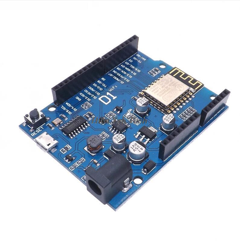 WeMos D1 CH340 CH340G WiFi Development Board ESP8266 ESP-12F ESP-12E Module for arduino  IDE UNO R3 Micro USB ONE 3.3v 5v 1A