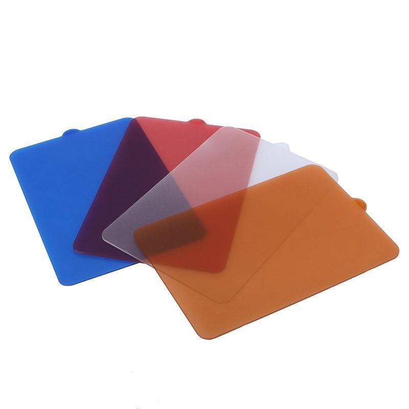 1 Piece Yongnuo Led Light Filter Blue Red Orange White Diffuser for YongNuo YN300 YN300 II