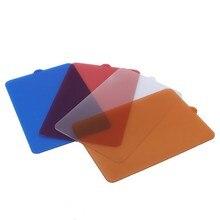 Цельнокроеное платье YONGNUO свет фильтр синий и красный цвета оранжевый и белый диффузор для YONGNUO YN300 YN300 II YN300 III YN160 iiiled видео свет