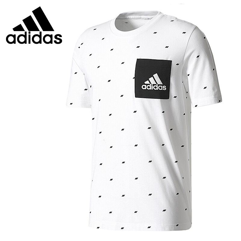 Original New Arrival  Adidas ESS SEASONAL T Men's T-shirts short sleeve Sportswear
