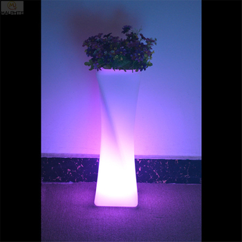 LED Flowerpot Standing lamp The stand light bar cafe Color Remote Control Industrial decorative landscape lighting luminaires