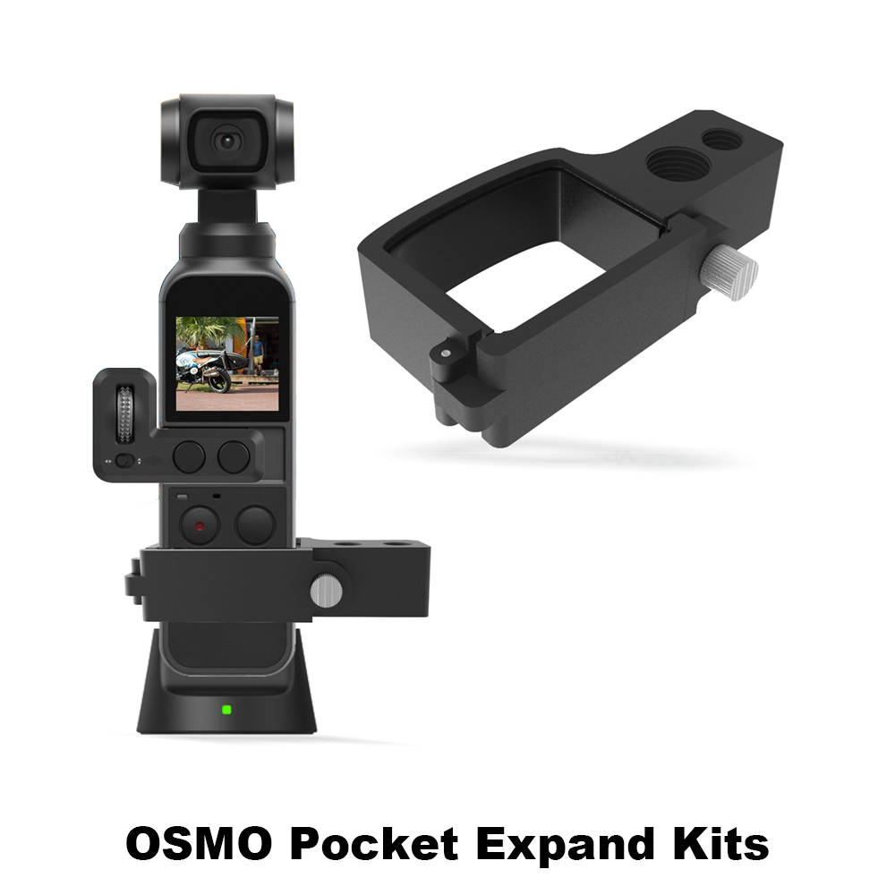Expand Module Adapter with 1//4 Inches and 3//8 Inches Interface for DJI OSMO Pocket Durable