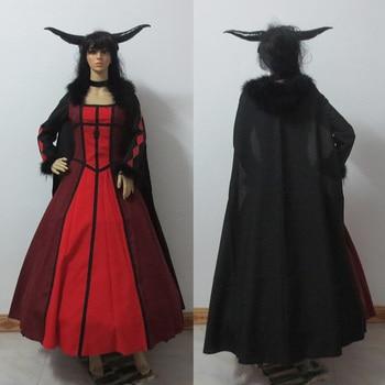 Maoyuu maou yuusha maoyu 악마 왕 여왕 코스프레 의상 모든 크기 맞춤 제작
