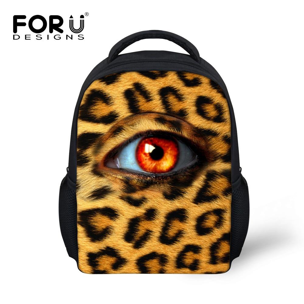 400975d59a7e Brand Small Kids School Bags For Baby Girls Leopard Print Book Bags  Children Schoolbag Satchel Toddler Casual Bag Mochila Bolsas