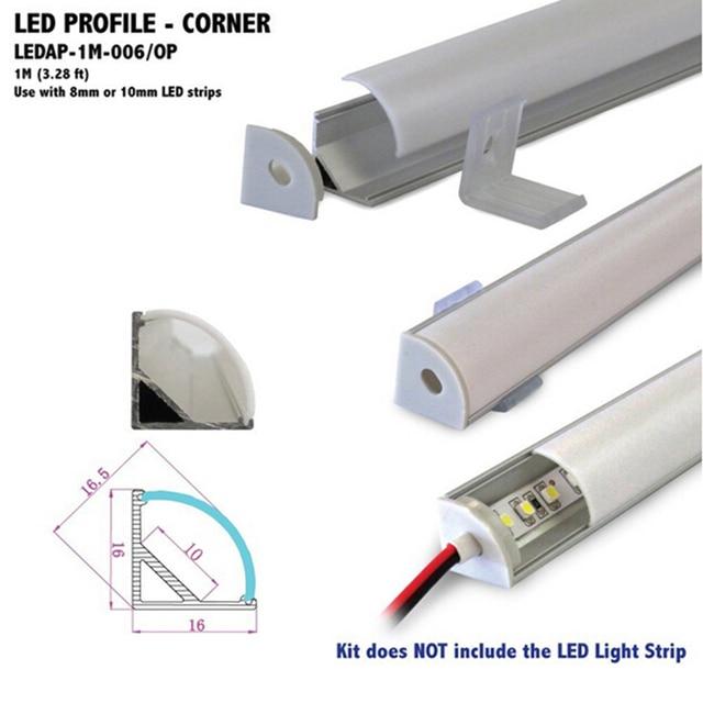 Fast delivery 10pcs v shape corner aluminium led channel for counter fast delivery 10pcs v shape corner aluminium led channel for counter led strip light led bar mozeypictures Images