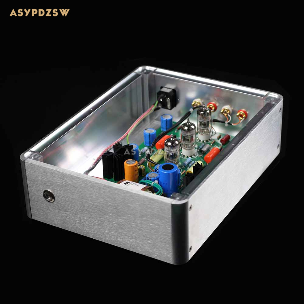 E834B RIAA MM Tube phono amplifier 12AX7 Turntable preamplifier Base on EAR834 tube mm phono stage amplifier board pcba ear834 circuit vinyl lp amp no including 12ax7 tubes riaa hifi audio diy free shipping