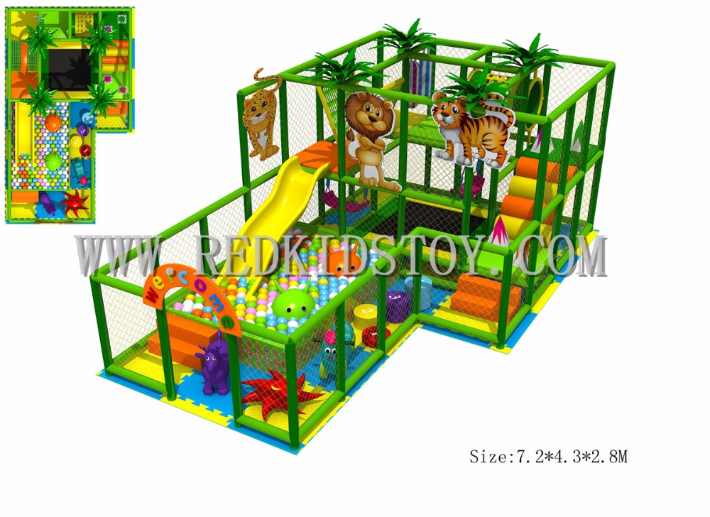 Popular soft indoor playground buy cheap soft indoor for Cheap indoor play areas