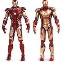 17cm Super Hero Marvel Iron Man MK42 Mk43 PVC Action Figures Model Collection Children For Toys