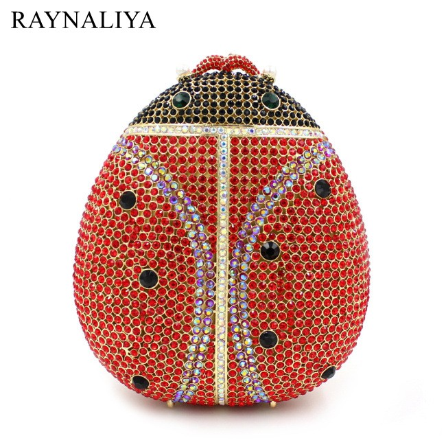 Crystal Clutches Evening Bags Women's Animal Shape Bag Party Dinner Clutch Wedding Rhinestone Cocktail Handbag Smyzh-e0215 bridal wedding flower clutch crystal bags metal gold women evening clutches party cocktail dinner minaudiere bag smyzh e0328