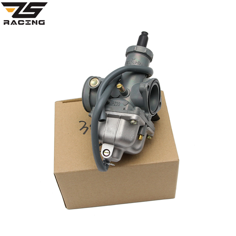 ZS Racing New Keihin PZ26 PZ27 PZ30 Motorcycle Carburetor Carburador Used For Honda CG125 And Other