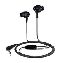 VSONIC nowy VSD1S VSD1Si profesjonalna izolacja akustyczna HIFI słuchawki douszne z wbudowanym sterowaniem słuchawki douszne IEM kobieta wokal POP