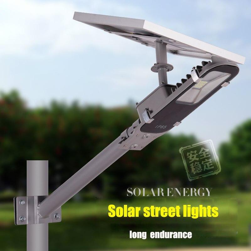 Réverbère intégré d'énergie solaire de LED, place d'usine de paysage de jardin à la maison, lampe intelligente d'éclairage routier municipal