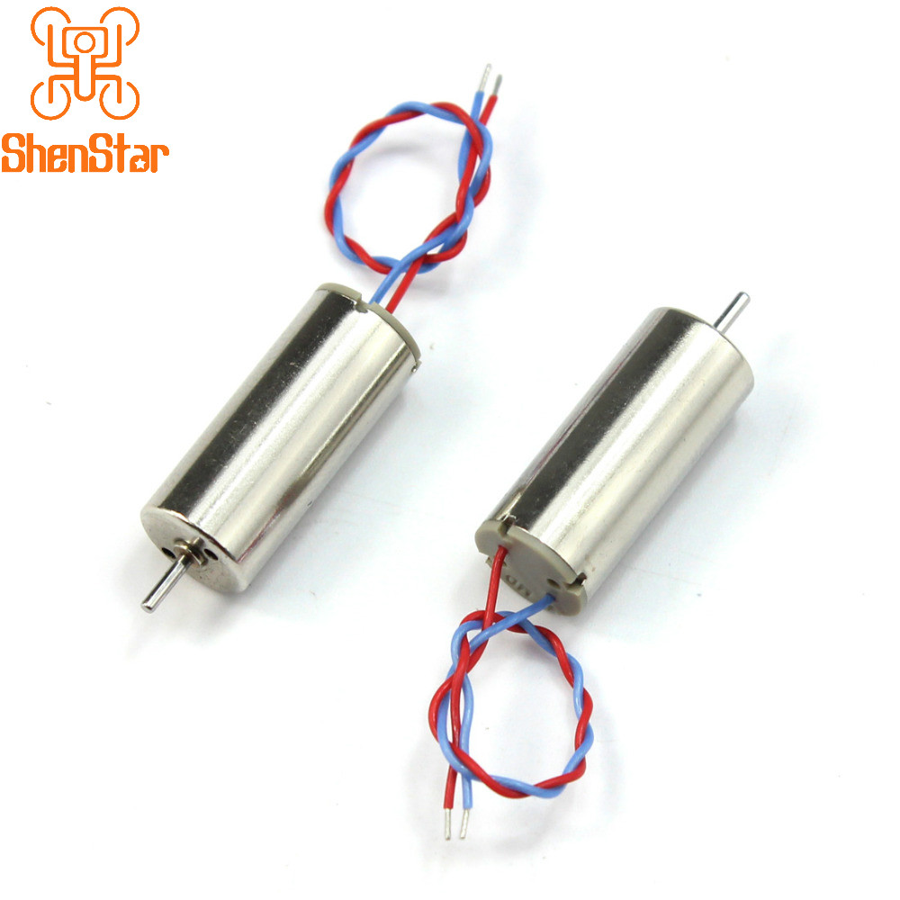 2S 7.4V 8520 Upgraded 8.5x20mm Mini Coreless Motor CW CCW For DIY Tiny QX90 95 LT105 Micro Indoor Race Quadcopter F19124-2/5