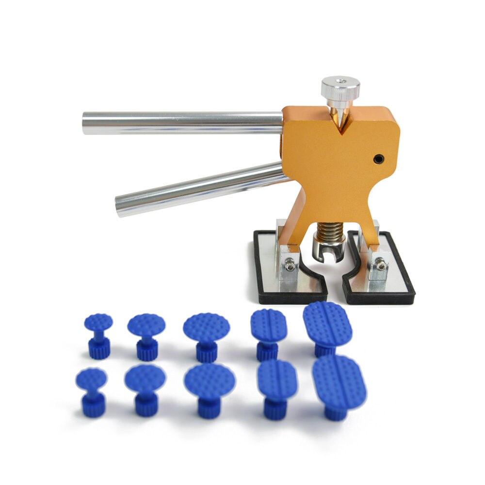 Furuix PDR herramientas Paintless Dent herramientas de reparación Dent Removal Dent Puller Tabs Dent Lifter conjunto de herramientas de mano PDR Toolkit herramientas