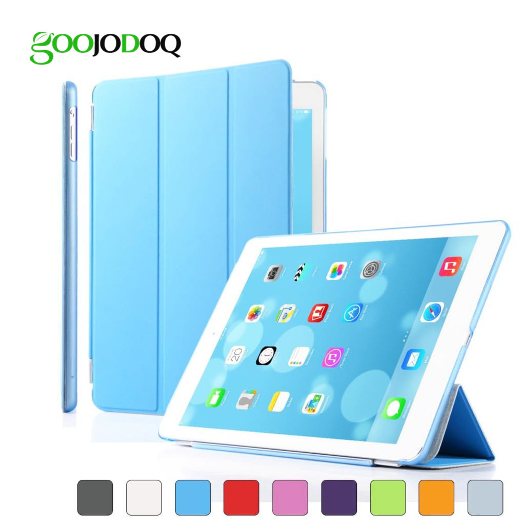 Magnetic PU Leather Slim Smart Case For Ipad Air 2 Air 1 Ipad 5 6 Fold Cover Ultra Thin PC Hard Back for Ipad Mini 1 2 3 Case