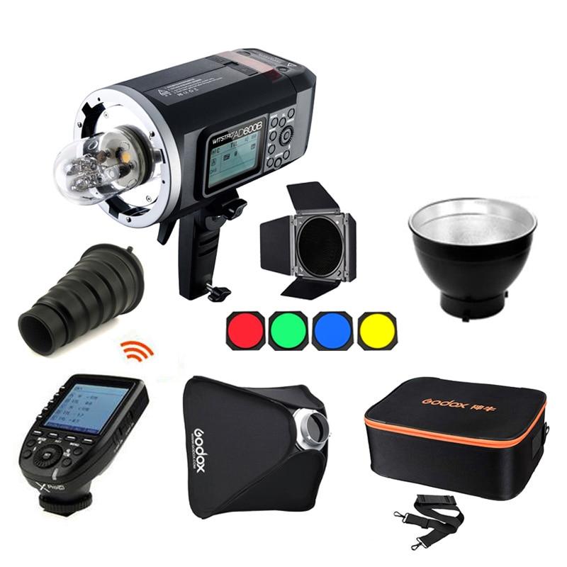 Godox Wistro AD600B TTL All in one Outdoor Flash Light 600W GN87 2 4G HSS Studio