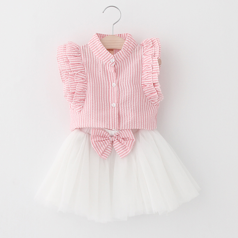 Sotida-Girls-Dresses-2017-Sweet-Princess-Dress-Baby-Kids-Girls-Clothing-Wedding-Party-Dresses-Children-Clothing-Pink-Applique-2