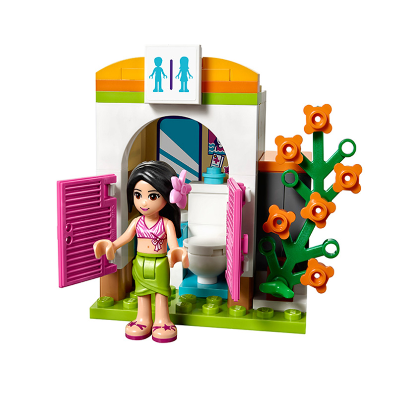 Compatible With Lego Friends 41313 01013 589pcs Building Blocks The