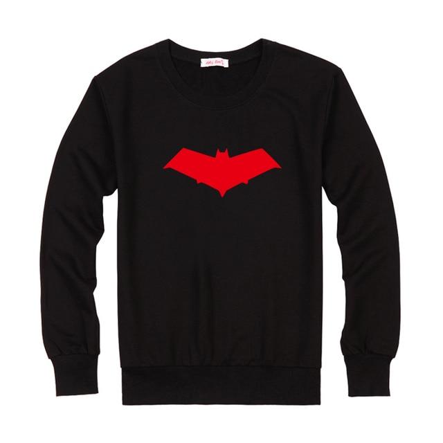Batman Under the Red Hood Jason Todd The Red Hood Logo T-shirts Print Mens  Casual Cotton Long Sleeve Tops Tee Shirts Black f33a06e7fc20