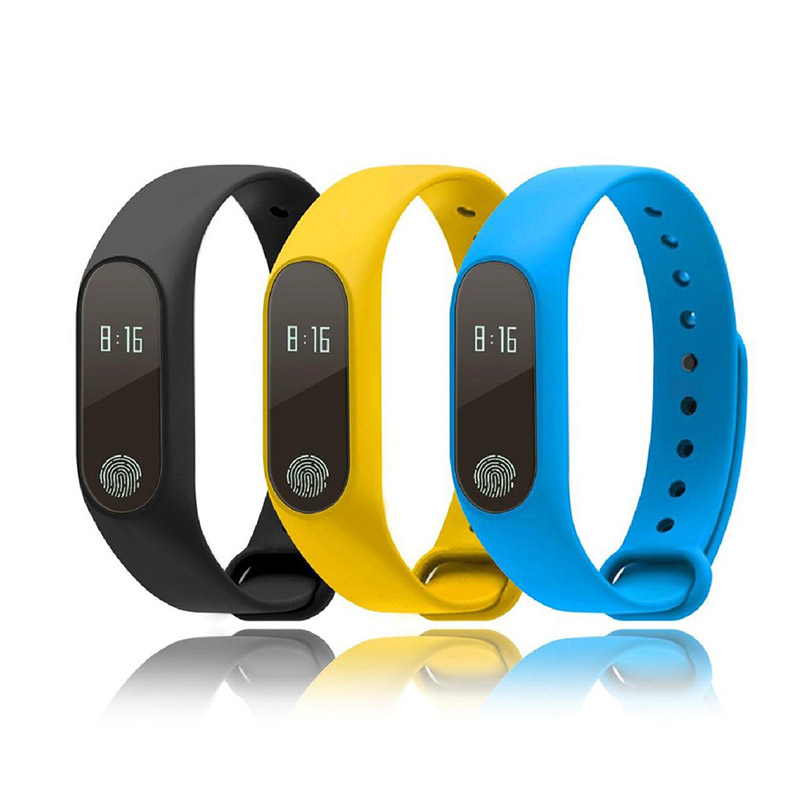 Visualizzazione Del Braccialetto di Vigilanza di Sport del polso di Fitness Sports Tracker Digitale LCD Walking Pedometro Run Passo Calorie Counter WristBand