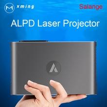 XMING M2 Láser Portátil Proyector 3D 1080 P Full HD 4 K Android 4.4 1280*800 Bluetooth 700 ANSI Lumen WIFI 300 pulgadas hogar teatro