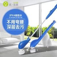 Чистящие щетки Инструменты для чистки приспособление для чистки в ванной комнате Бытовая зарядка Беспроводная электрическая щетка для чис