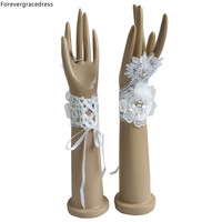 Forevergracedress In Stock Sexy Bridal Gloves Fingerless For Wedding Bride Cheap Accessories Free Shipping ST13